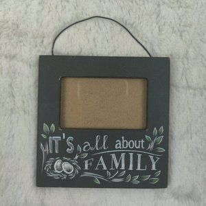 *FREE WITH BUNDLE* All About Family Small Frame